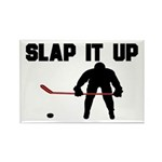 Hockey Rectangle Magnet (10 pack)