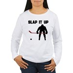 Hockey Women's Long Sleeve T-Shirt