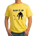 Hockey Yellow T-Shirt