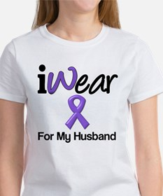 Purple Ribbon Husband Tee