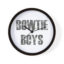 Bowtie Boys Wall Clock