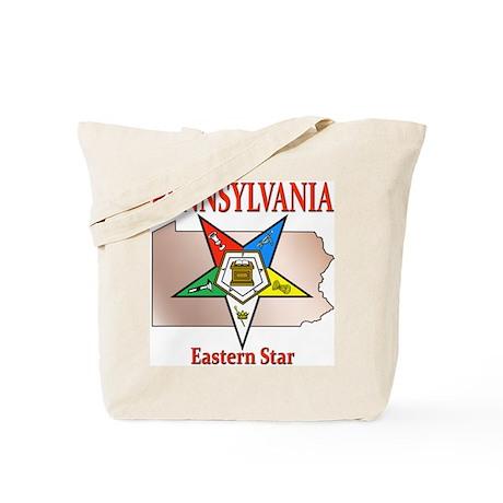 Pennsylvania Eastern Star Tote Bag