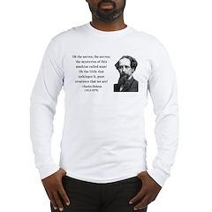 Charles Dickens 19 Long Sleeve T-Shirt