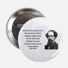 "Charles Dickens 19 2.25"" Button"