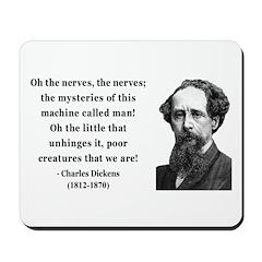 Charles Dickens 19 Mousepad