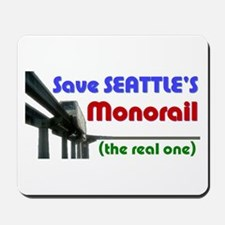 Save Seattle's Monorail Mousepad