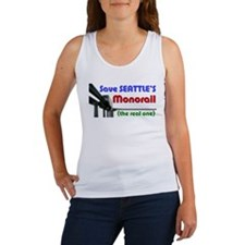 Save Seattle's Monorail Women's Tank Top