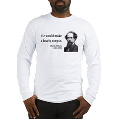 Charles Dickens 18 Long Sleeve T-Shirt