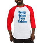 Going Fishing Baseball Jersey