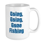 Going Fishing Large Mug