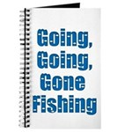Going Fishing Journal