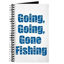 Going Fishing Journal
