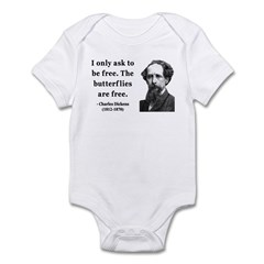 Charles Dickens 17 Infant Bodysuit