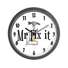 Mr Fix It Wall Clock