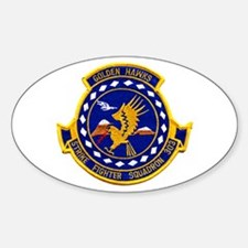 VFA 303 Golden Hawks Oval Decal