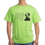 Charles Dickens 16 Green T-Shirt