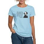 Charles Dickens 16 Women's Light T-Shirt