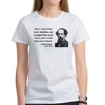 Charles Dickens 16 Women's T-Shirt
