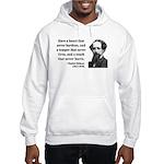 Charles Dickens 16 Hooded Sweatshirt