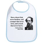 Charles Dickens 16 Bib