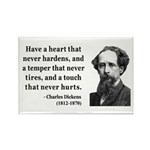 Charles Dickens 16 Rectangle Magnet