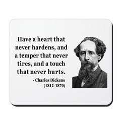 Charles Dickens 16 Mousepad