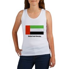 United Arab Emirates Flag Women's Tank Top