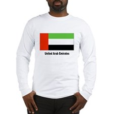 United Arab Emirates Flag Long Sleeve T-Shirt