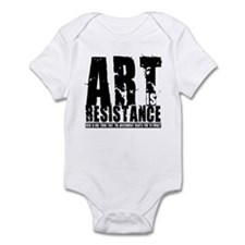 Art is Resistance Infant Bodysuit