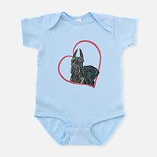 Heartline Blacks Infant Bodysuit