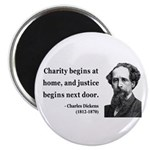 Charles Dickens 14 Magnet