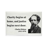 Charles Dickens 14 Rectangle Magnet (10 pack)