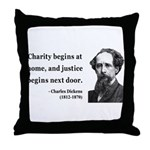 Charles Dickens 14 Throw Pillow