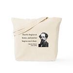 Charles Dickens 14 Tote Bag