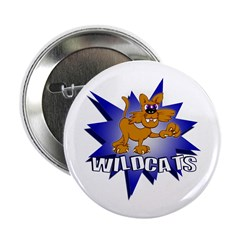 "Wildcats 2.25"" Button"
