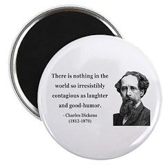 "Charles Dickens 13 2.25"" Magnet (10 pack)"