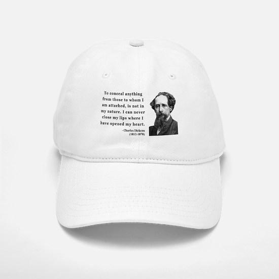 Charles Dickens 12 Baseball Baseball Cap