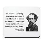 Charles Dickens 12 Mousepad