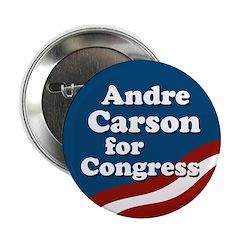 Andre Carson for Congress campaign button