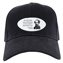 Charles Dickens 10 Baseball Hat