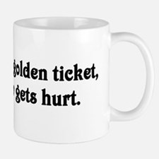 Give me your golden ticket Small Small Mug