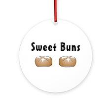 Sweet Buns Ornament (Round)