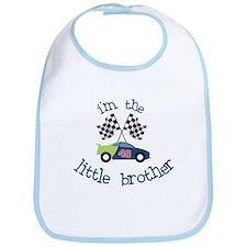 racecar little brother t-shirt Bib