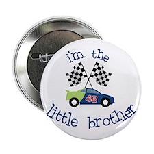 """racecar little brother t-shirt 2.25"""" Button"""