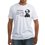 Charles Dickens 9 Fitted T-Shirt