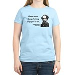 Charles Dickens 9 Women's Light T-Shirt