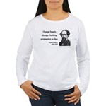Charles Dickens 9 Women's Long Sleeve T-Shirt