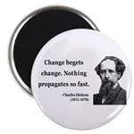 Charles Dickens 9 Magnet