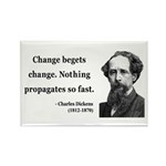 Charles Dickens 9 Rectangle Magnet (10 pack)