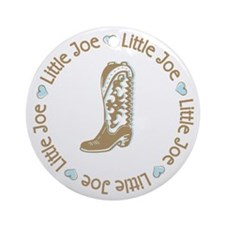 Little Joe Cowboy Bonanza Ornament (Round)